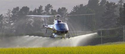 Αεοψεκασμοί για την καταπολέμηση των κουνουπιών στην περιοχή της Βιστωνίδας